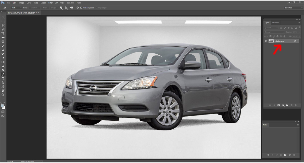 Automotive dealer image editing