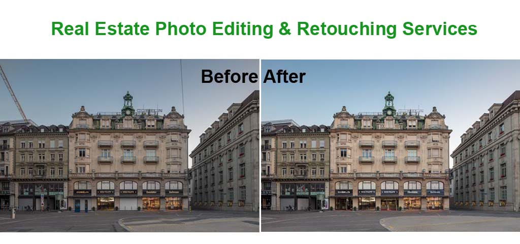 Real Estate Photo Editing & Retouching Services
