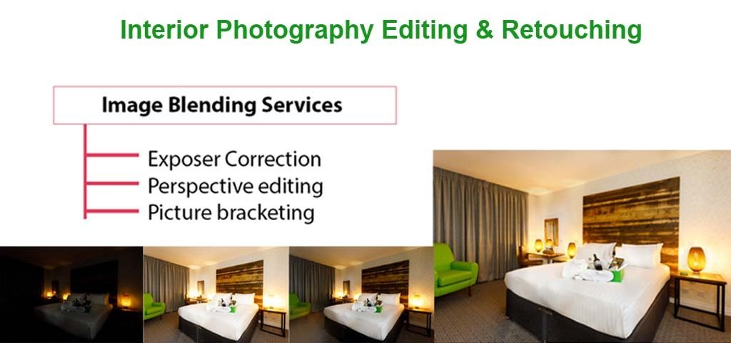 real estate hdr photo editing services